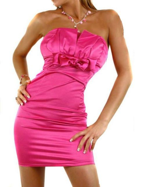 Sukienka Satynowa Różowa Wesele Lato R S Glamour W Suknie I Sukienki