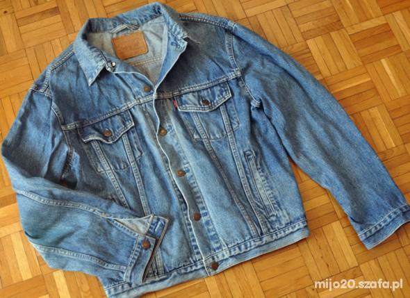 266d4442a2d8b Katana jeansowa LEVIS męska M niebieska vintage w Kurtki i płaszcze ...
