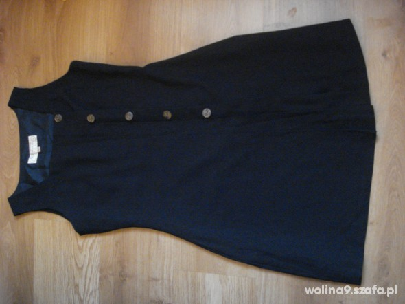 Suknie i sukienki sukienka granatowa