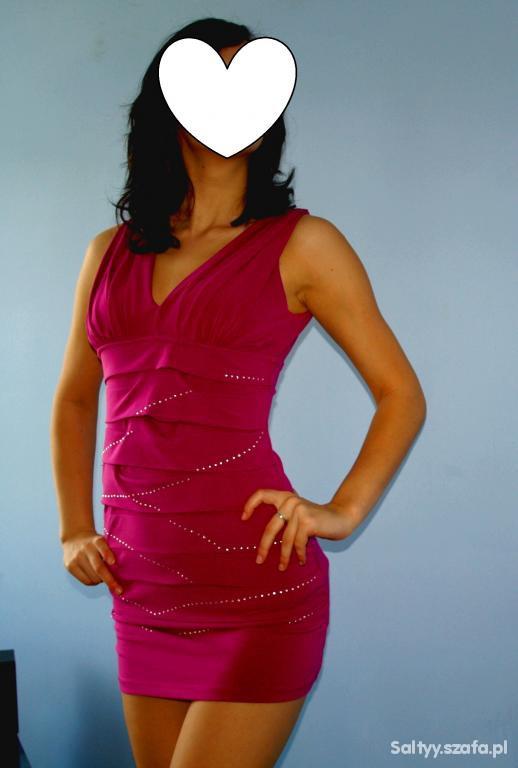 Suknie i sukienki BANDAGE sukienka bandażowa OKAZJA