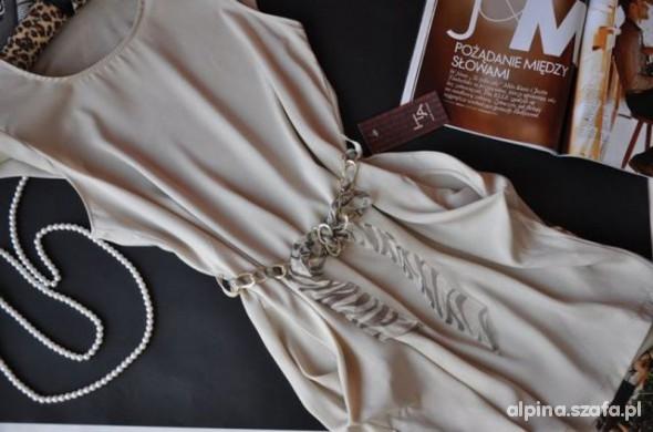 Suknie i sukienki Sukienka tulipan kieszenie z paskiem