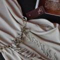 Sukienka tulipan kieszenie z paskiem