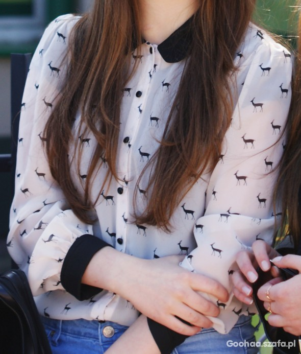 Koszula w łosie HIT bloggerki