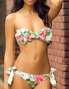 sliczne bikini kokarda
