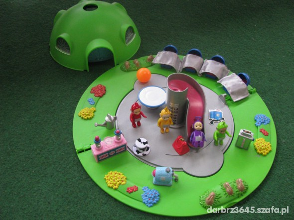 Zabawki domek teletubisiów