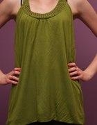 Tunika zielona ciążowa M
