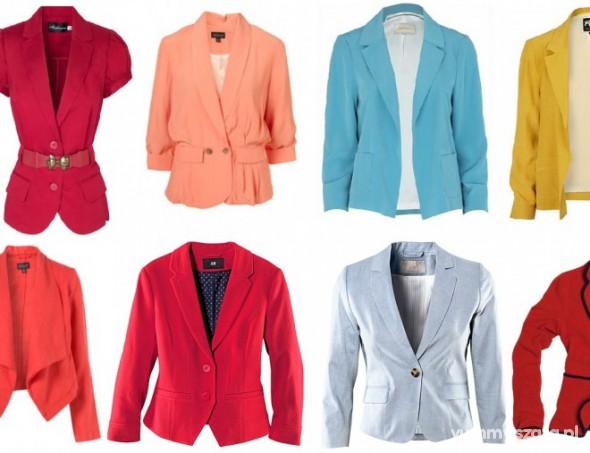 Ubrania Kolorowe marynarki M