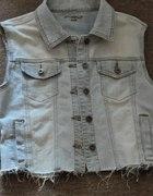 jeansowa katanka new look