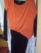 Tunika rudo czarna XL