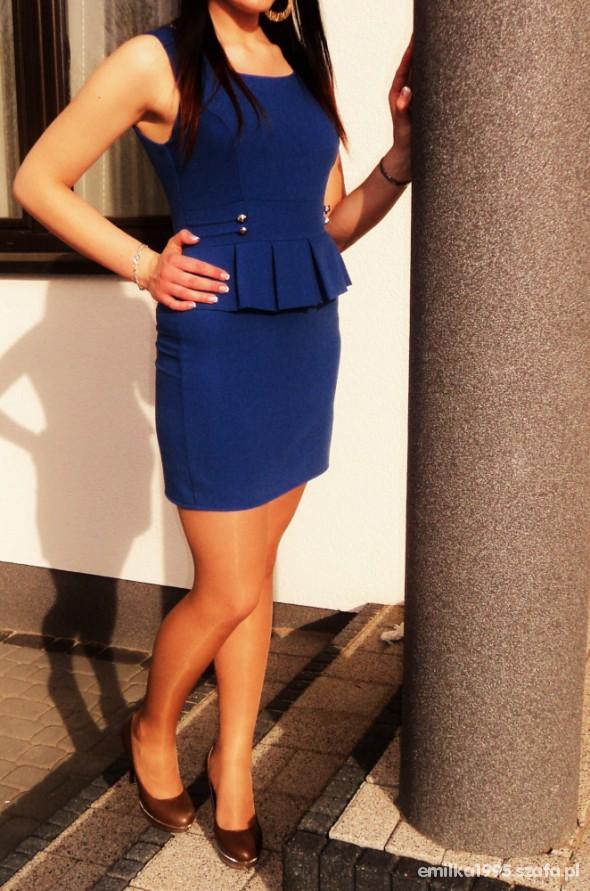 Na specjalne okazje Moja śliczna sukienka z baskinką