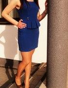 Moja śliczna sukienka z baskinką...