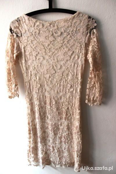Suknie i sukienki Koronkowa sukienka TOPSHOP