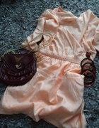 Dress orange dress for sensitive girl