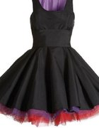 Taliowana sukienka w stylu lat 50tych...