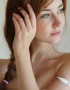 Piękna naturalna śliczne włosy