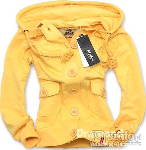 żółta bluza