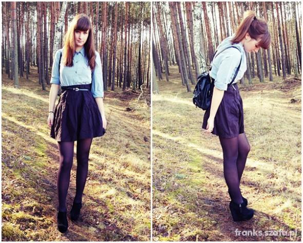 Mój styl Blue jeans