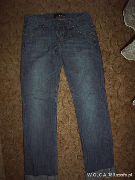 spodnie dżins biodrówki