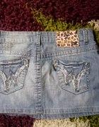 jeansowa mini cena z wysylka