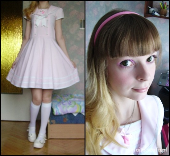 Mój styl Sweet sailor lolita