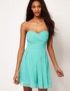 ASOS zwiewna sukienka