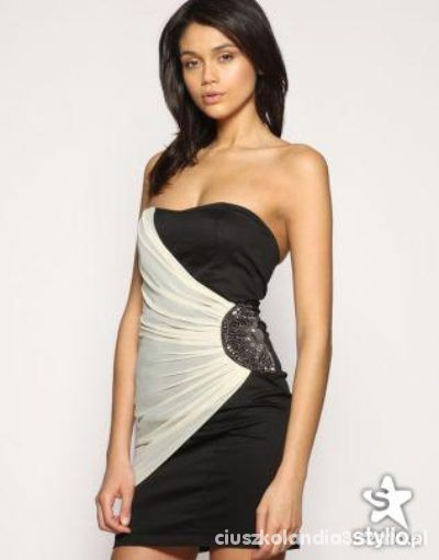 Wieczorowe moja sukienka ASOS 36 cudenko