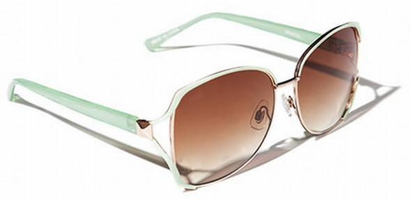 Reserved wiosna lato 2012 miętowe okulary