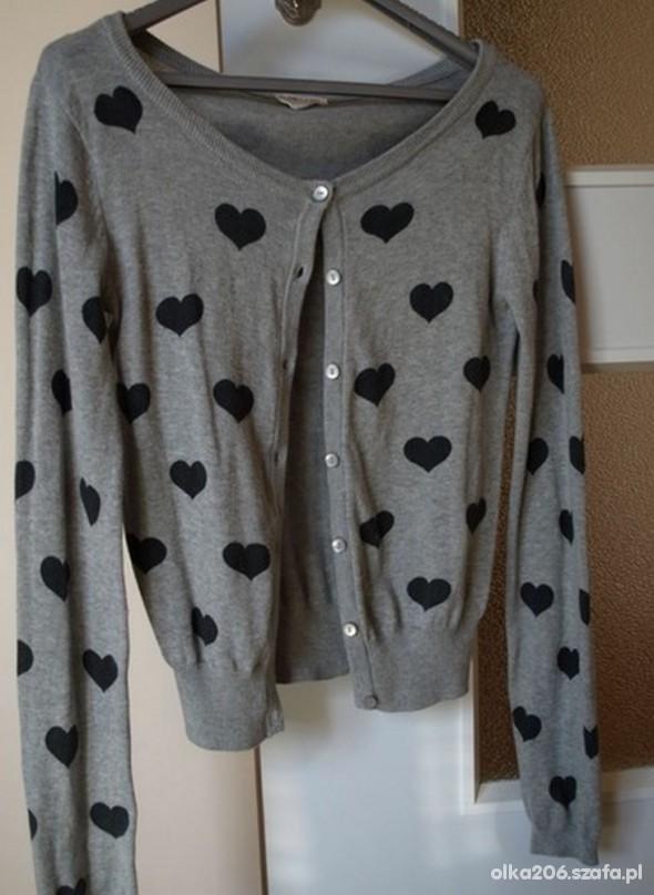 h&m sweter w serduszka