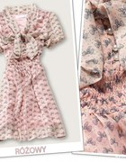sukienka z kokardkami
