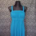 morska turkusowa sukienka