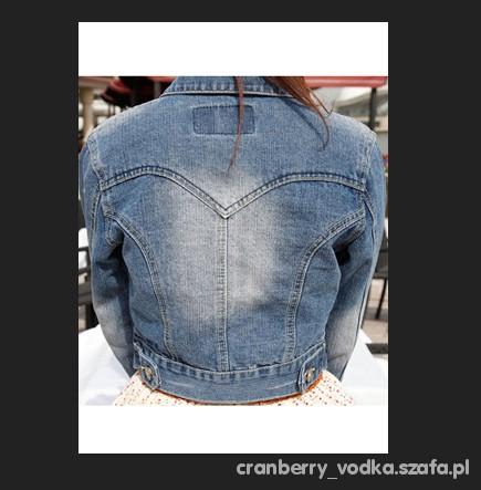 Krótka kurtka jeansowa katana