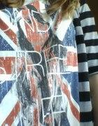 bluzka z flaga wielkiej brytanii...
