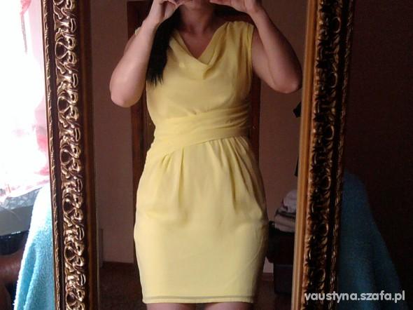Mój styl proszę o radę żółta sukienka