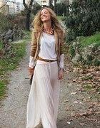 romatyczna maxi dress