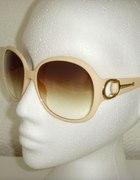 Okulary Gucci Klasyczne ECRU...