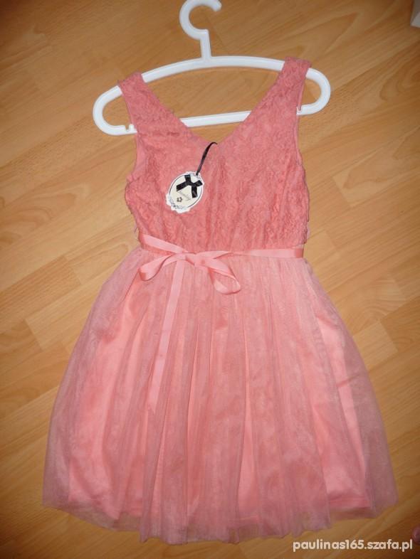 Suknie i sukienki NOWA MALINOWA SUKIENKA S