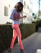 Neonowe spodnie
