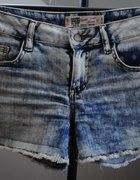 zara kropeczki jeansowe