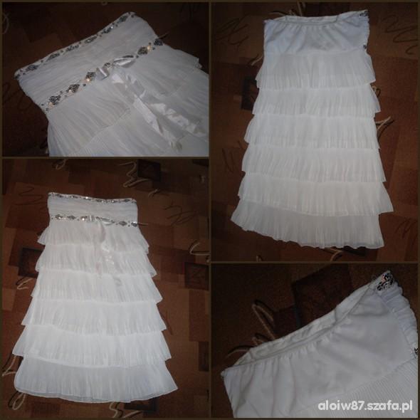 Suknie i sukienki Biała idealna do tańczenia Sukienka