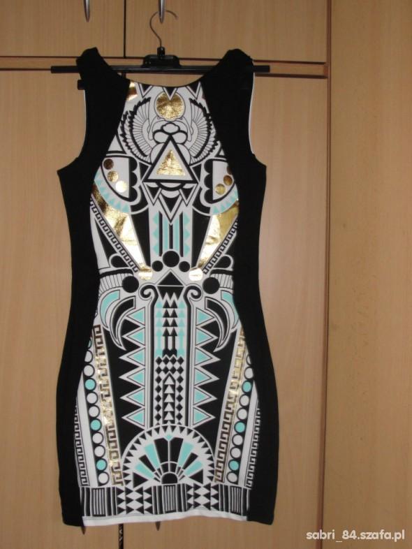 Suknie i sukienki Sukienka aztec River Island