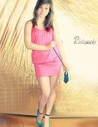 różowaaaaa sukieneczka