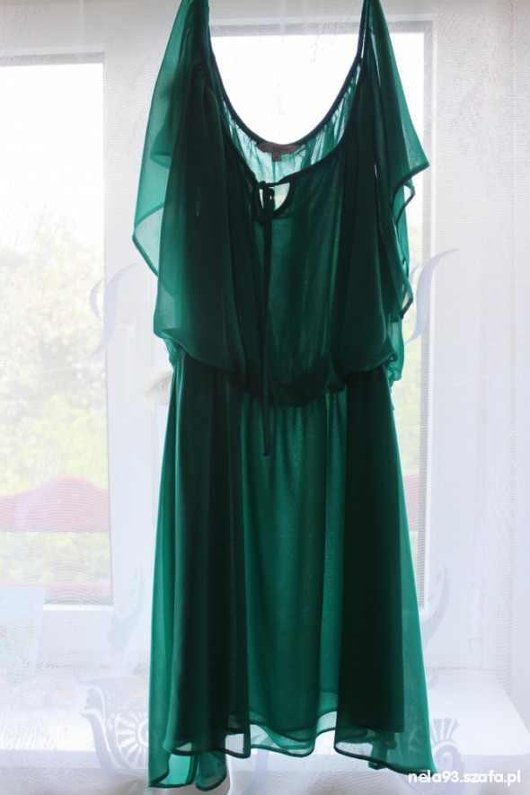 Sukienka MGIEŁKA MIĘTOWA