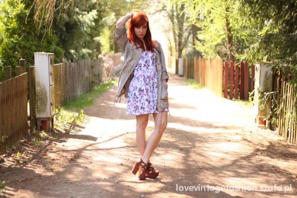 Romantyczne Romatic flower dress