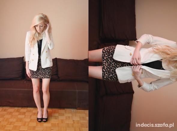 Eleganckie beige blazer