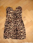 MISO panterka dress sukienka xs s