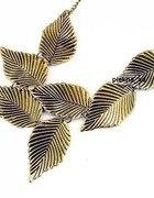 Naszyjnik liście