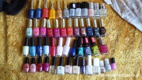 Moja osobista kolekcja lakierów 2012...