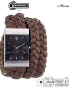 Pleciony zegarek