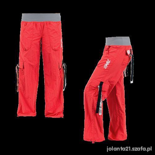 Spodnie Zumba Cargo czerwone