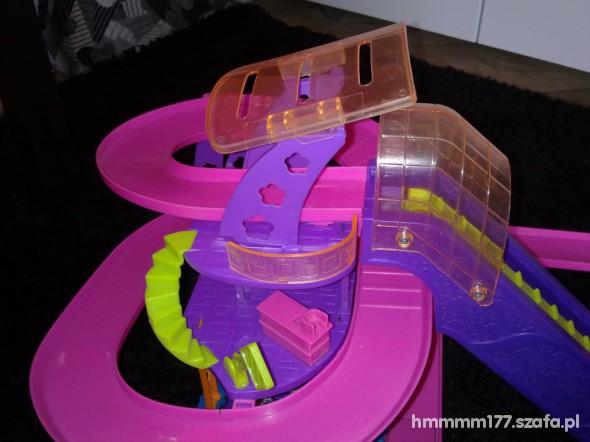 Zabawki Elektryczny tor wyścigowy POLLY POCKET gratisy